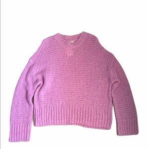NWT Chelsea28 Cozy Chunky Crew Neck Sweater